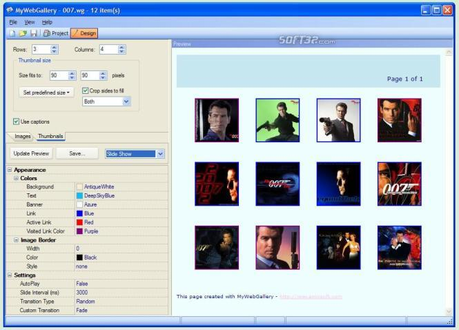 MyWebGallery Screenshot 2