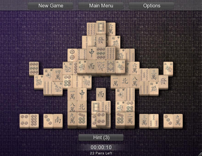Mahjong Solitarus Screenshot
