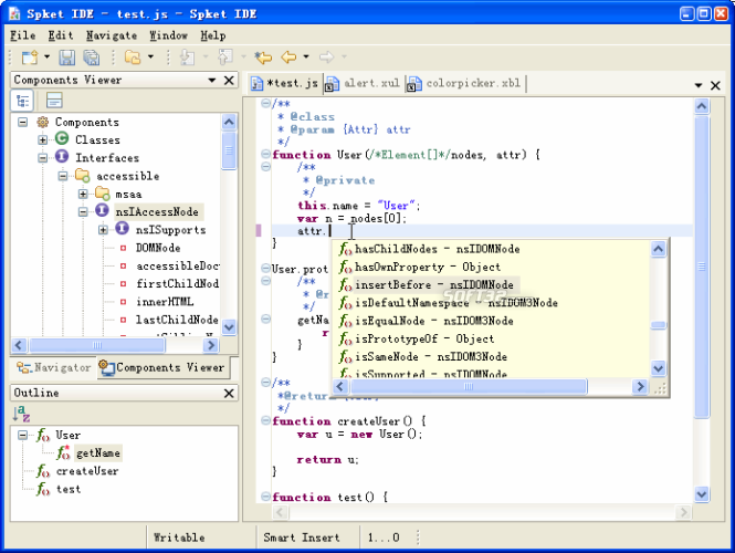 Spket IDE Screenshot
