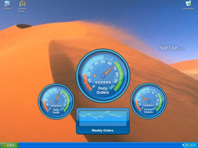 Business Gauges Screenshot