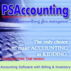 PSA Accounting Screenshot