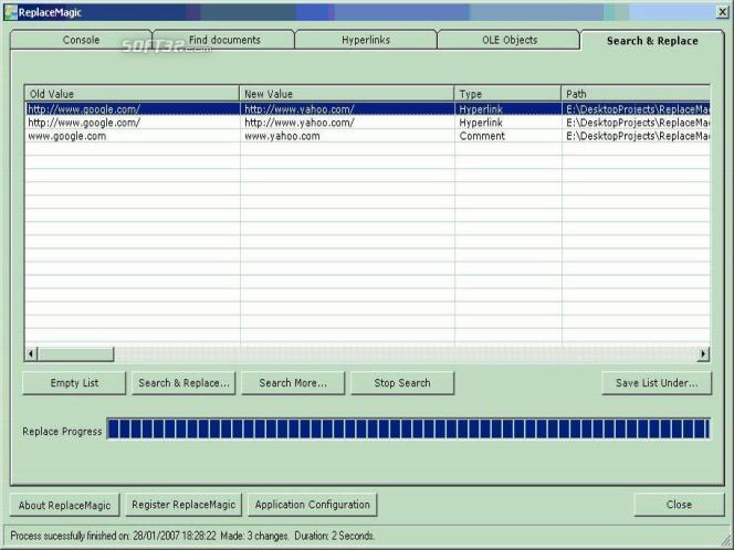 ReplaceMagic WordOnly Standard Screenshot 2