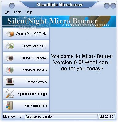 SilentNight Microburner Screenshot 1