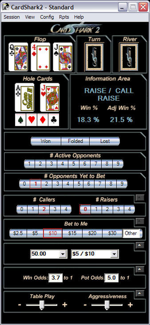CardShark2 Screenshot