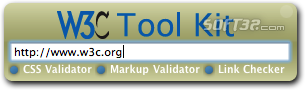 W3C Tool Kit Screenshot