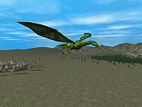 3D Dragons Screenshot