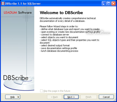 DBScribe for SQL Server Screenshot 2