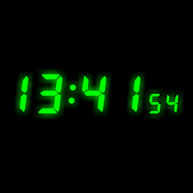 ABF Software Clock Screen Saver Screenshot