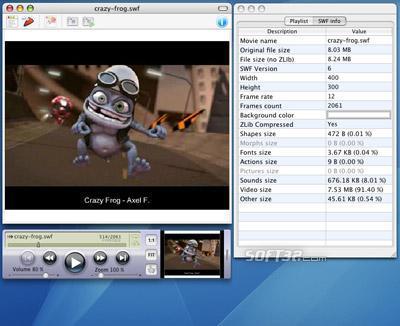 SWF & FLV Player for Mac Screenshot 3