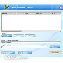 Magic iPod Video Converter Screenshot 2