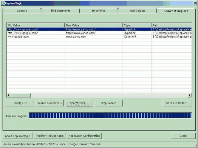 ReplaceMagic Bundle Standard Screenshot 3