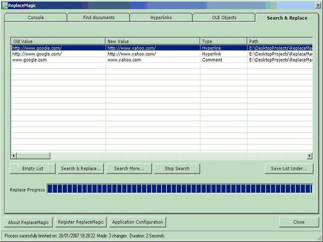 ReplaceMagic Bundle Standard Screenshot 1