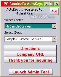 AutoKeys: AutoType Software Screenshot 3