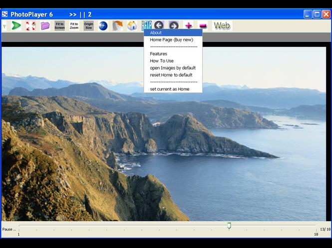 PhotoPlayer 6 Screenshot 1