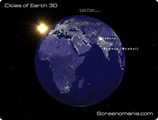 Cities of Earth Free 3D Screensaver Screenshot 2
