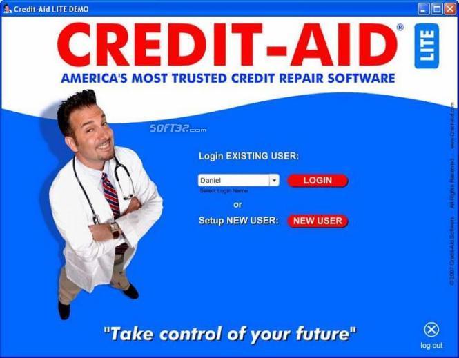 Credit-Aid Credit Repair Software Screenshot 2