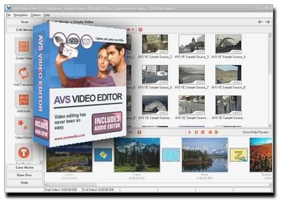 A V S - VIDEO Editor Screenshot 1