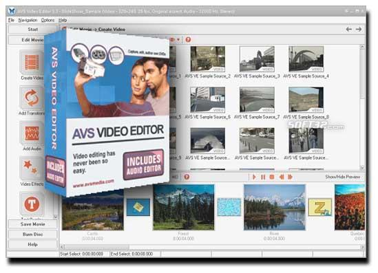 A V S - VIDEO Editor Screenshot 2