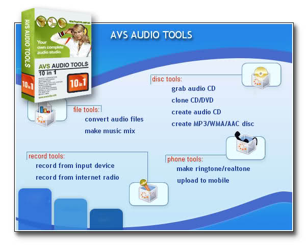 A V S - AUDIO Tools Screenshot