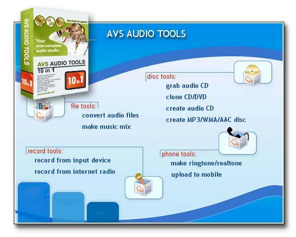 A V S - AUDIO Tools Screenshot 2