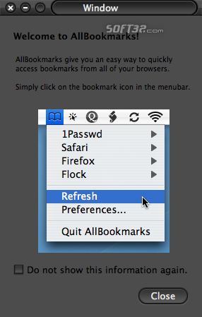 AllBookmarks Screenshot