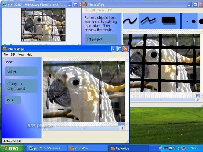 PhotoWipe Screenshot 3