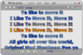MiniLyrics 1