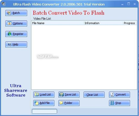 Ultra Video To Flash Converter Screenshot 3