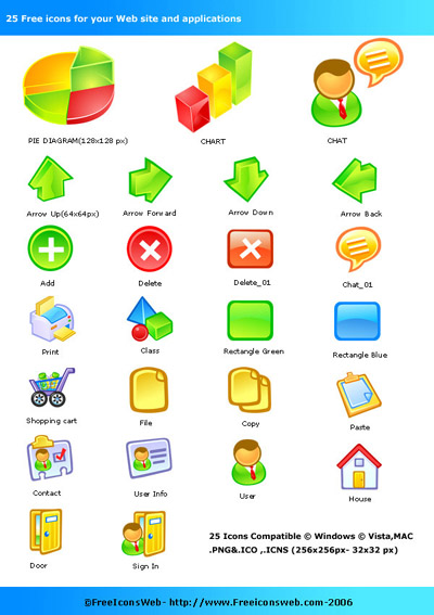 Free Icons Pack Screenshot 1