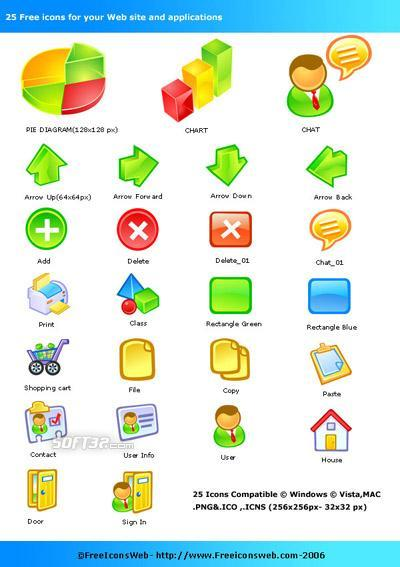 Free Icons Pack Screenshot 2