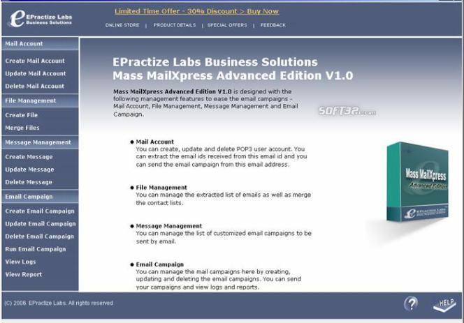 Email Marketing Software Advanced Edition Screenshot 2