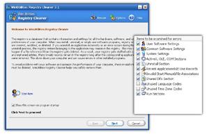 WinUtilities Registry Cleaner Screenshot 1