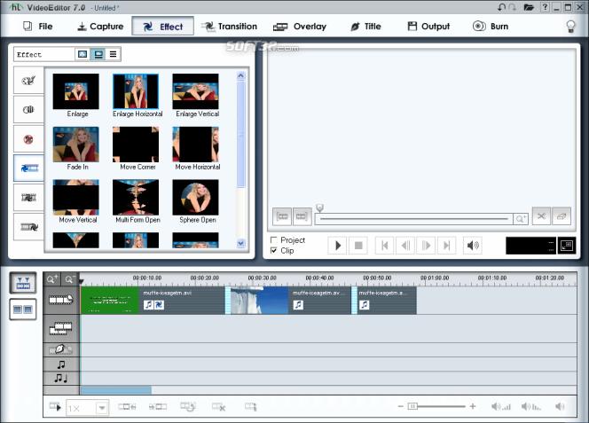 honestech Video Editor Screenshot 6
