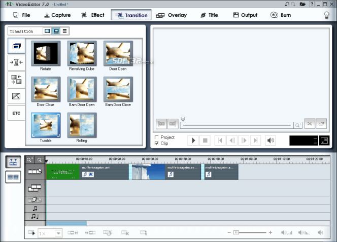 honestech Video Editor Screenshot 7