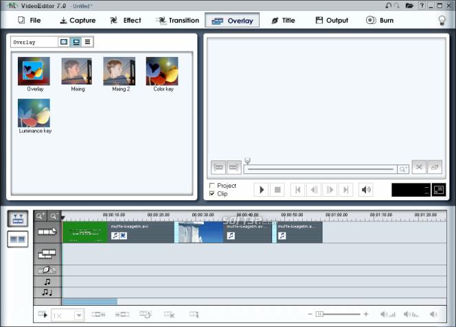honestech Video Editor Screenshot 8