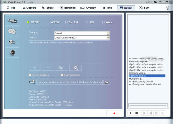 honestech Video Editor Screenshot 9