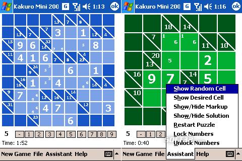 Kakuro Mini Screenshot 3