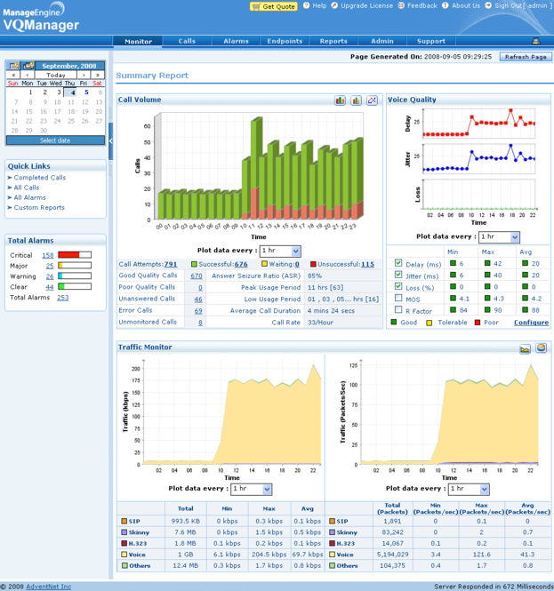 ManageEngine VQManager Screenshot 1