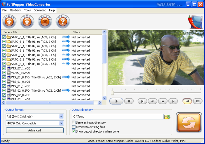 SoftPepper Video Pack Screenshot