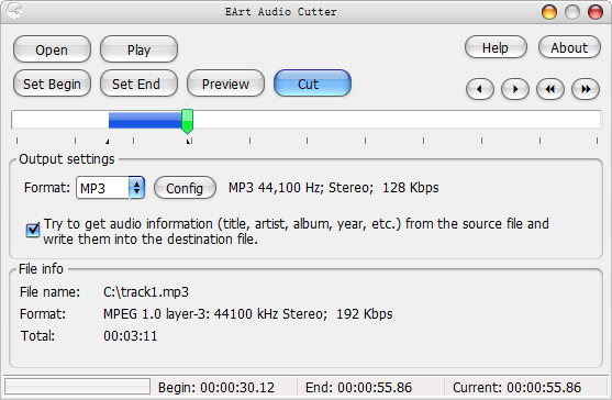 EArt Audio Cutter Screenshot