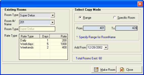 Sai Soft Hotel Catering Software Screenshot