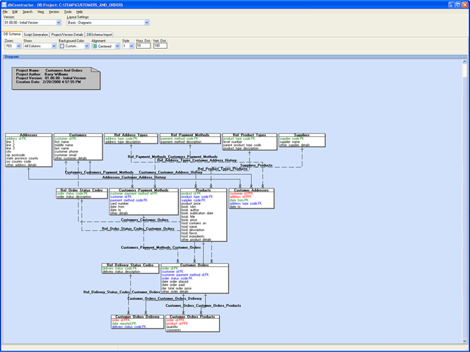 dbConstructor Screenshot