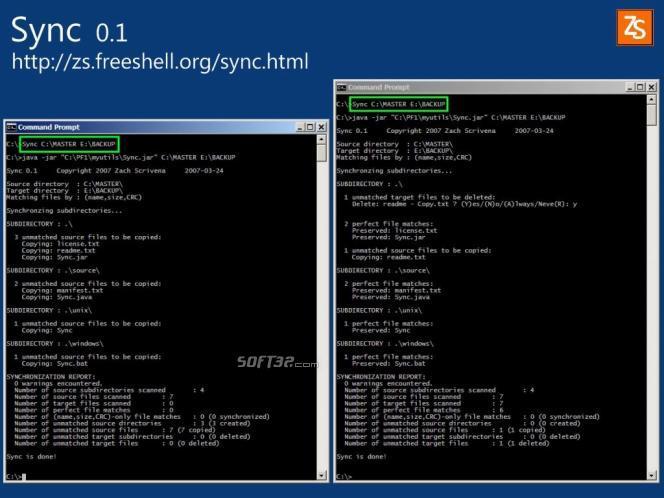 Sync Screenshot 2