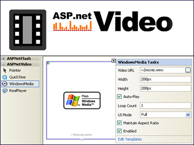 ASPNetVideo Screenshot