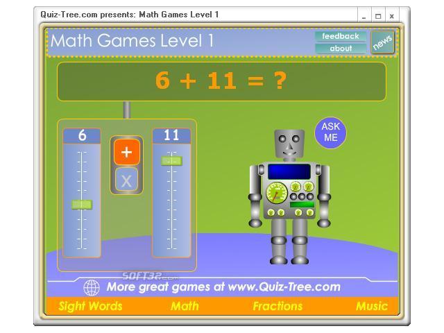 Math Games Level 1 Screenshot 3