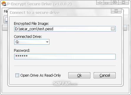 P-Encrypt Secure Drive Screenshot 4