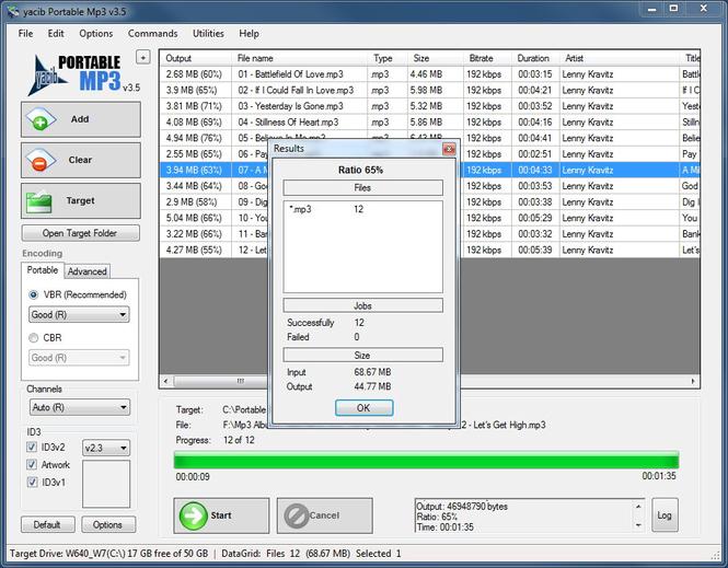 Portable Mp3 Screenshot 1