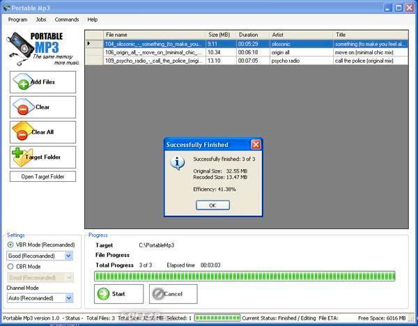 Portable Mp3 Screenshot 3