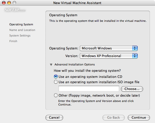 VMWare Fusion Screenshot 2