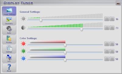 Display Tuner Screenshot 1